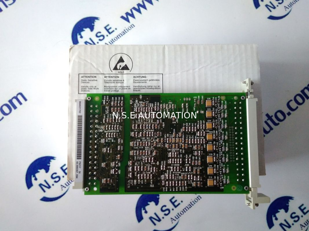 Good Performance Hima PLC F6217 Safety - Related Analogue Input Module